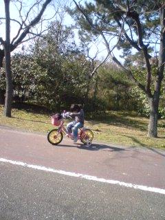 海中☆自転車特訓
